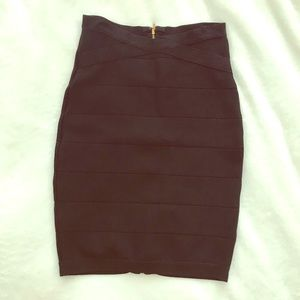 Bebe high waisted pencil skirt